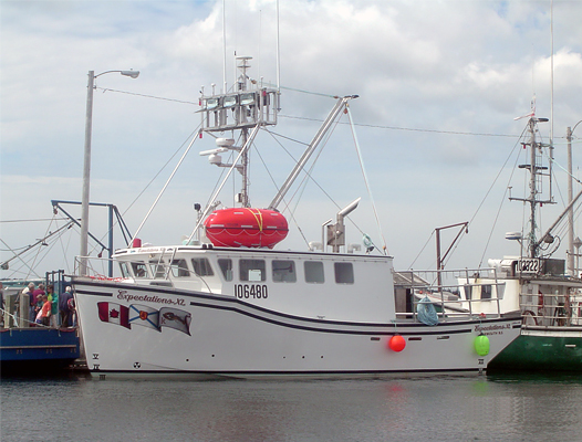 PSS on fishing vessel Expectations XL