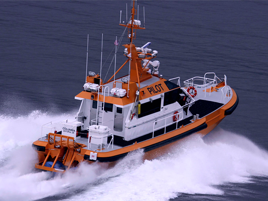 PSS on pilot boat Astoria, OR