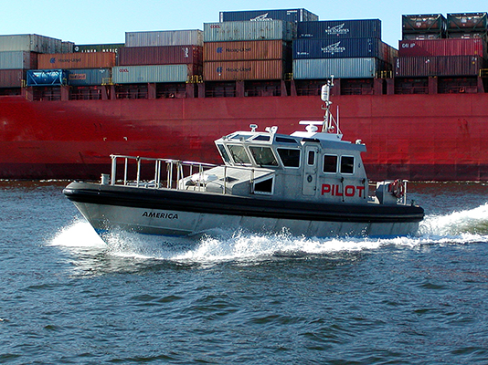 PSS on Pilot Boat New York