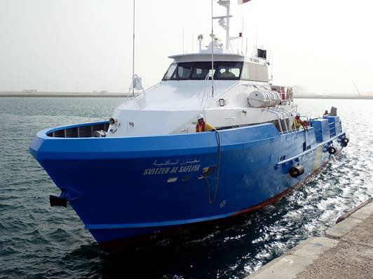 PSS Shaft Seal on Pilot Boat Ras Laffan