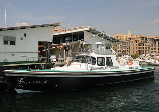 PSS Shaft Seal on French Pilot Boat