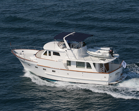 PSS on DeFever 49 Pilothouse