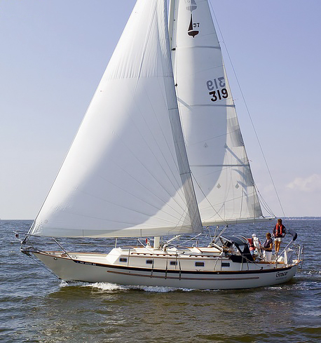 Pacific Seacraft 37 with the PSS Shaft Seal
