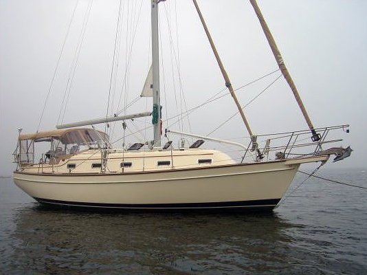 Island Packet 350 with the PSS Shaft Seal